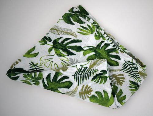 Tropical Print Bamboo Wrap