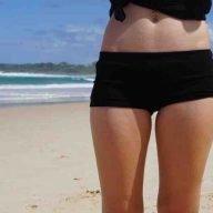 Bonnie Boyfriend Bamboo Ladies Boxers shorts- Front View Y&B