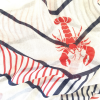 Unique Lobster Bamboo $ Organic Cotton Scarf
